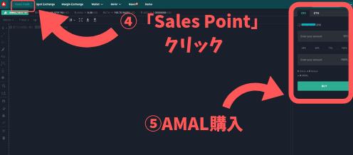AMALの購入手順4